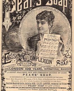 Beautiful 1887 Pear's Soap Ad