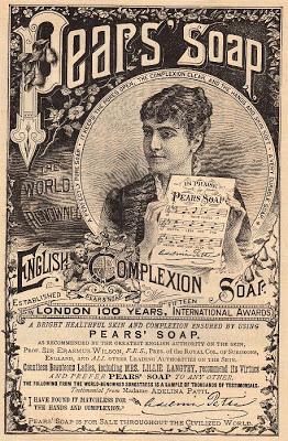 Beautiful 1887 Pear S Soap Ad The Graphics Fairy