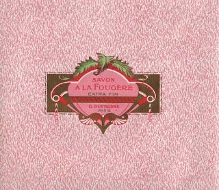 Vintage French Soap Label