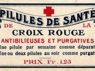 French Pharmacy Label