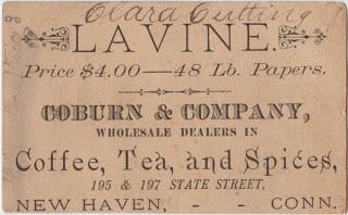 Sweet Victorian Trade Card
