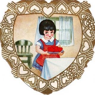2 Cute Vintage Valentines
