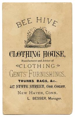 Vintage Advertising Ephemera – Bee Hive Clothing