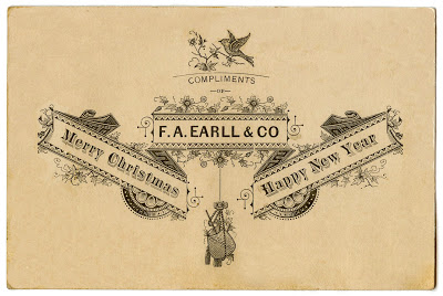 Antique Ephemera – Beautiful Christmas Typography