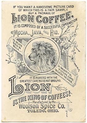 Lion Coffee Ephemera