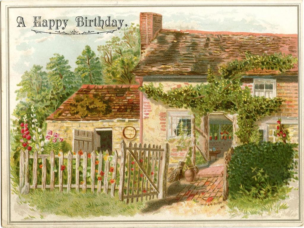 Birthday Cottage Image