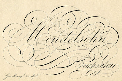 Amazing French Ephemera – Typography – Mendelsohn