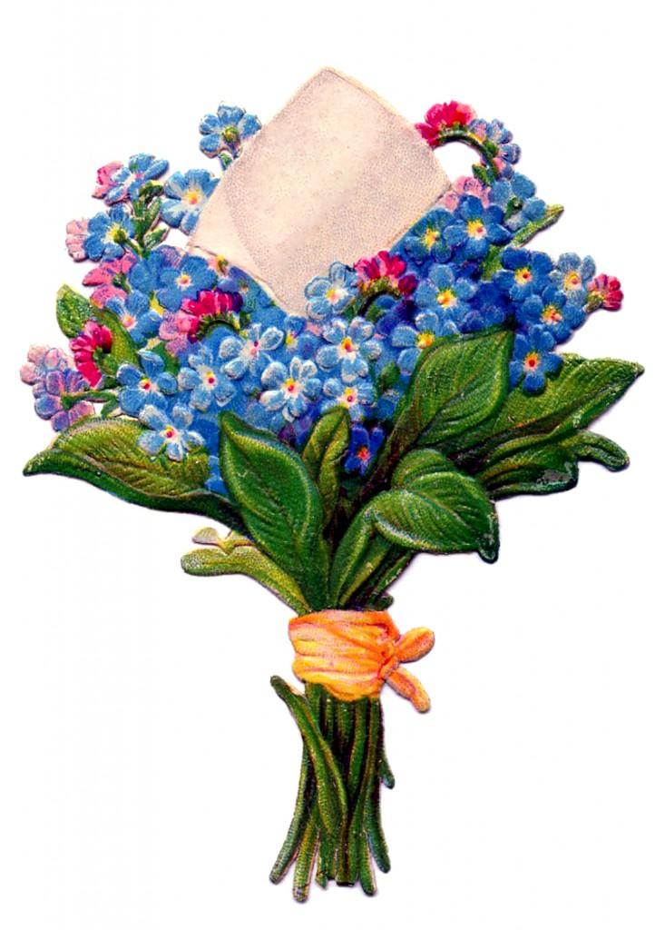 Floral Bouquet Vintage Image