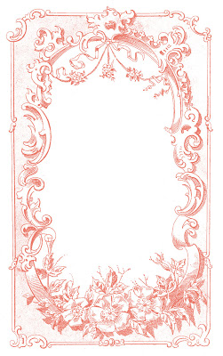digital frame image ornate european