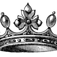 Free Vector Download - Wonderful Crown - The Graphics Fairy