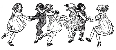 Vintage Image – Children Dancing – Swedish Song