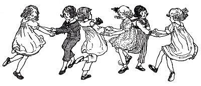 Vintage Image – Children Dancing – Swedish Song