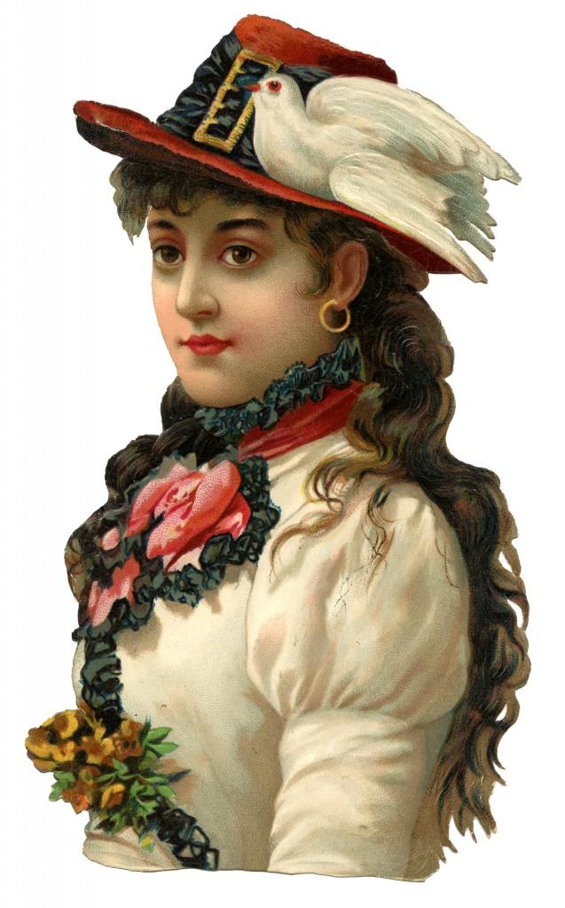 Gyspy-Lady-Bird-Hat-Image-GraphicsFairy