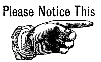Vintage Clip Art – Pointing Hand Sign – Steampunk