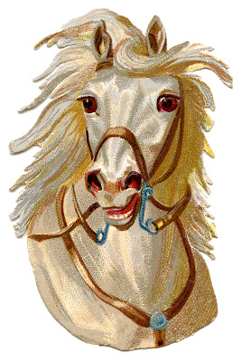 Victorian Graphics Fancy Horses The Graphics Fairy