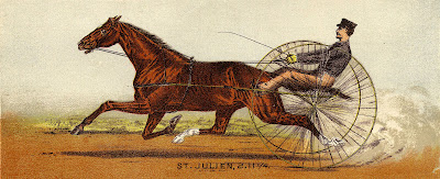 Victorian Graphic – Horse or Harness Racing – Men