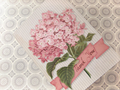 Brag Monday – Hydrangea Card & French Inspired Buckets