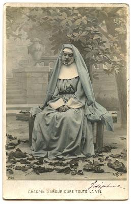 Old Photo – Pretty French Nun