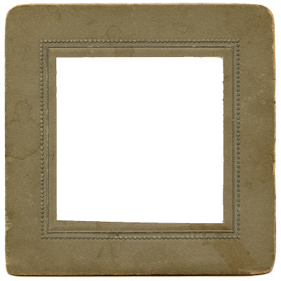 Vintage Ephemera – Old Photo Frame