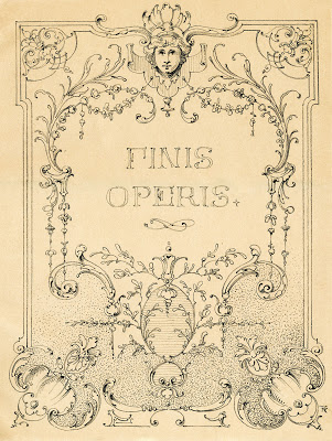 Vintage Illustrations – Gorgeous Ornate Label – Frame