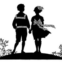 Fantastic Patriotic Silhouette - Charming Kids