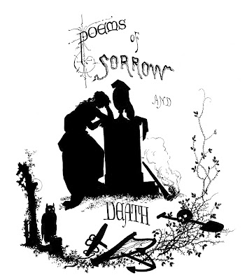 Antique Silhouette – Poems of Death – Halloween