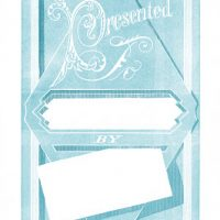Vintage Label Images - Presented To - Gift Tags - Graphics Fairy