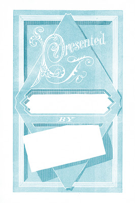 Vintage Label Images – Presented To – Gift Tags