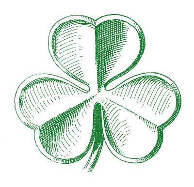 Public Domain Clip Art – Shamrocks – St. Patrick's Day