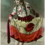 Old Photo - Dancer Image - Fiesta Costume