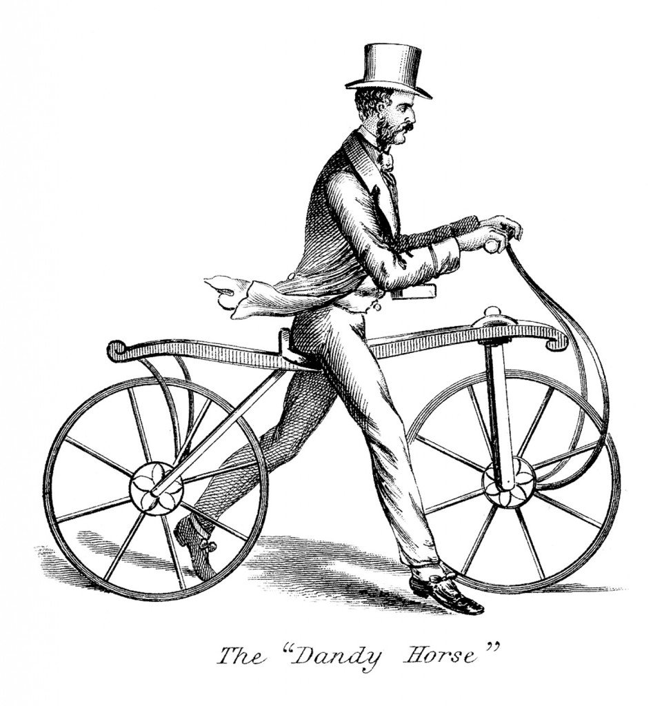 Steampunk-Walking-Bicycle-Image-GraphicsFairy