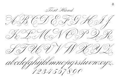 Typography Printable – Fancy Script – Monograms