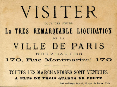 Antique Ephemera – Beautiful French Advertising