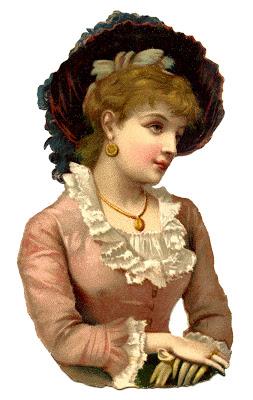 Free Vintage Image – Victorian Woman – Scrap