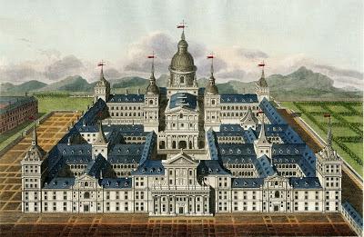 Vintage Image - Amazing Spanish Palace Spain Castle