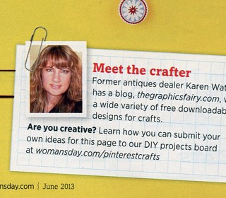 Featured in Woman's Day this Month!