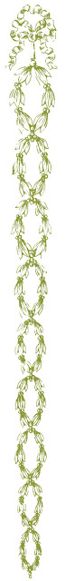 Vintage Graphic Design Element – Laurel Wreath Drops