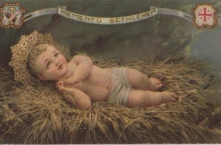 Amazing Baby Jesus Holy Card