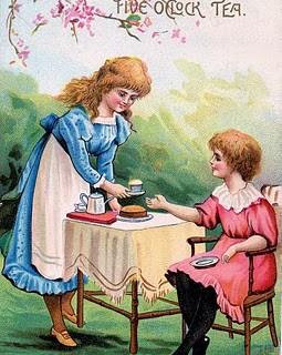 Vintage Clip Art – Alice in Wonderland Look Alike