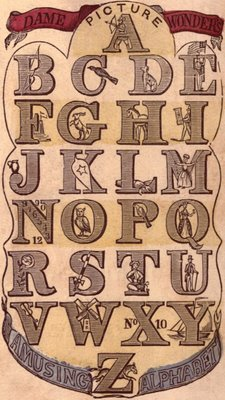 Free Victorian Graphic - Early Alphabet - Typography - The ...