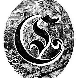 Spencerian Saturday – Pictorial Alphabet