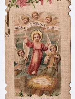 Baby Jesus with Angels
