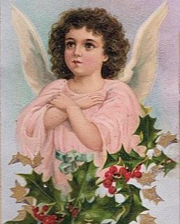 Victorian Postcard – Angel Girl