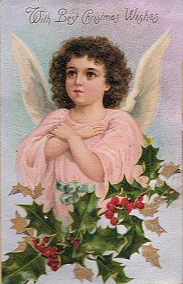 Victorian Postcard Angel Girl The Graphics Fairy