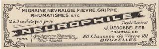 European Apothecary Label