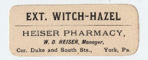 Old Fashioned Apothecary Labels