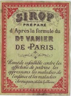 Old Paris Label