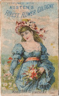 Austen Perfume/Cologne Trade Card