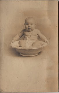Funny Baby In a Bowl