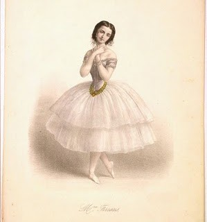 Antique Clip Art – Amazing Ballerina